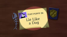 Titlecard-Lie Like a Dog