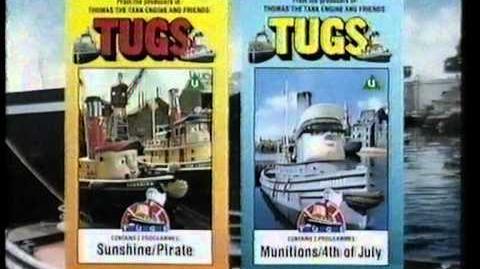 Castle Vision TUGS VHS Promo