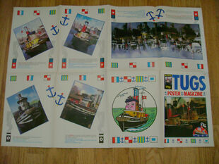 TUGS Poster Magazine folded out back side