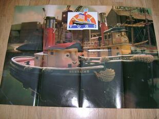 TUGS Poster Magazine folded out