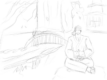 Sam wonderland small sketch lines