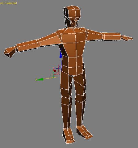 File:Low poly human male.jpg