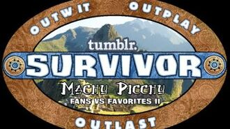 Tumblr Survivor Machu Picchu Opening