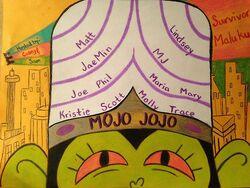 Mojo Jojo Flag