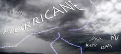 Team hurrican flag