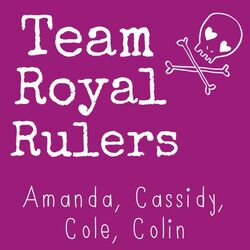 Team royal rulers flag
