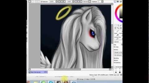 My Little Pony Pegasus speedpaint