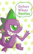 Spikey wikey replies