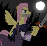 Flutterguy and Werelight Shine