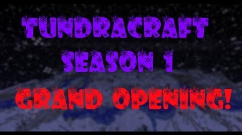 Minecraft TundraCraft Server! Grand Opening! Episode