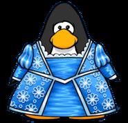 Grumpunzel's Dress from a Player Card
