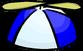 Blue Propeller Cap