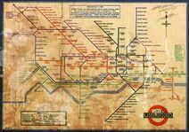 Plan XIX wiecznego metra