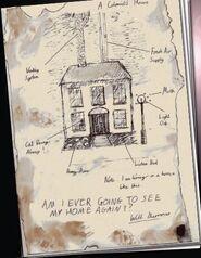 Plan domu w kolonii