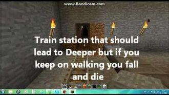 Tunnels on Minecraft