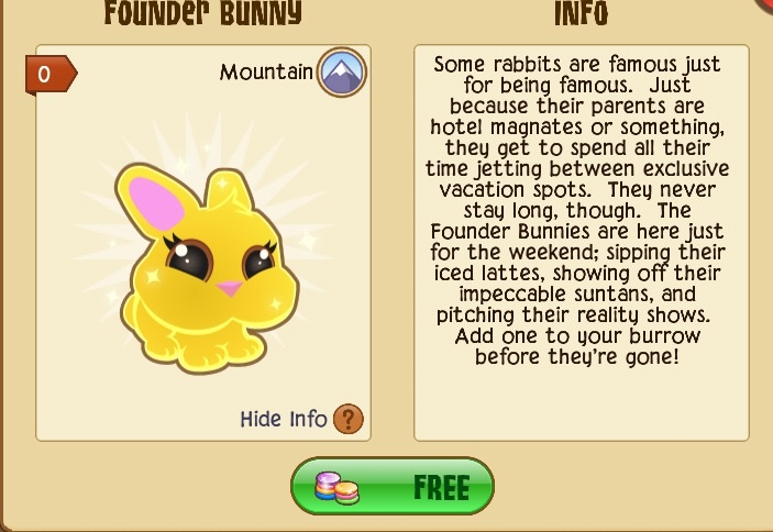 Founder bunny tunnel town wiki fandom powered by wikia founderbunny ccuart Choice Image