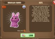 Mountain Bunny 2 (Info)