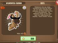 Wildebeest Bunny 1 (Info)