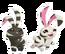Zebra Bunny (Icon)