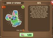 Bunny of Paradise 1 (Info)