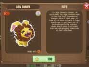 Lion Bunny 1 (Info)