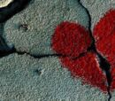 El corazon roto.