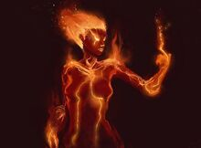 Fire Elemental by Vij 8