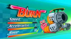 Burn stats