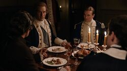George Washington introduces Benedict Arnold to Lazare-Jean Théveneau de Francy
