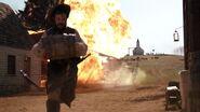 Battle of Setauket gunpowder explosion