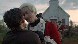John Graves Simcoe warns Abraham Woodhull that he still suspects him