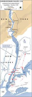 American rev fall 1776