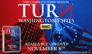 Turn Season 3 DVD advertisement
