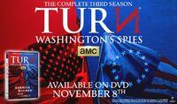 Turn Season 3 DVD advertisement