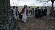 George Washington at John André's hanging