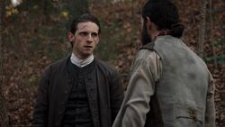 Abraham Woodhull meeting with Caleb Brewster