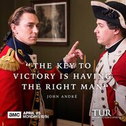 John André quote