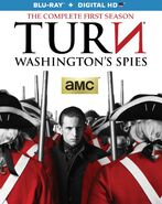 Turn Season 1 Blu-ray front cover