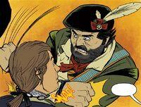Robert Rogers kills Continental soldier