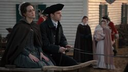 Abraham Woodhull and Anna Strong set off for New York