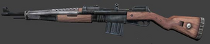 A Gewehr 47 as it appears in-game.