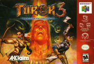 Turok 3 North American Front Cover