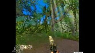 Turok- Evolution GameCube Gameplay - Very pretty jungle
