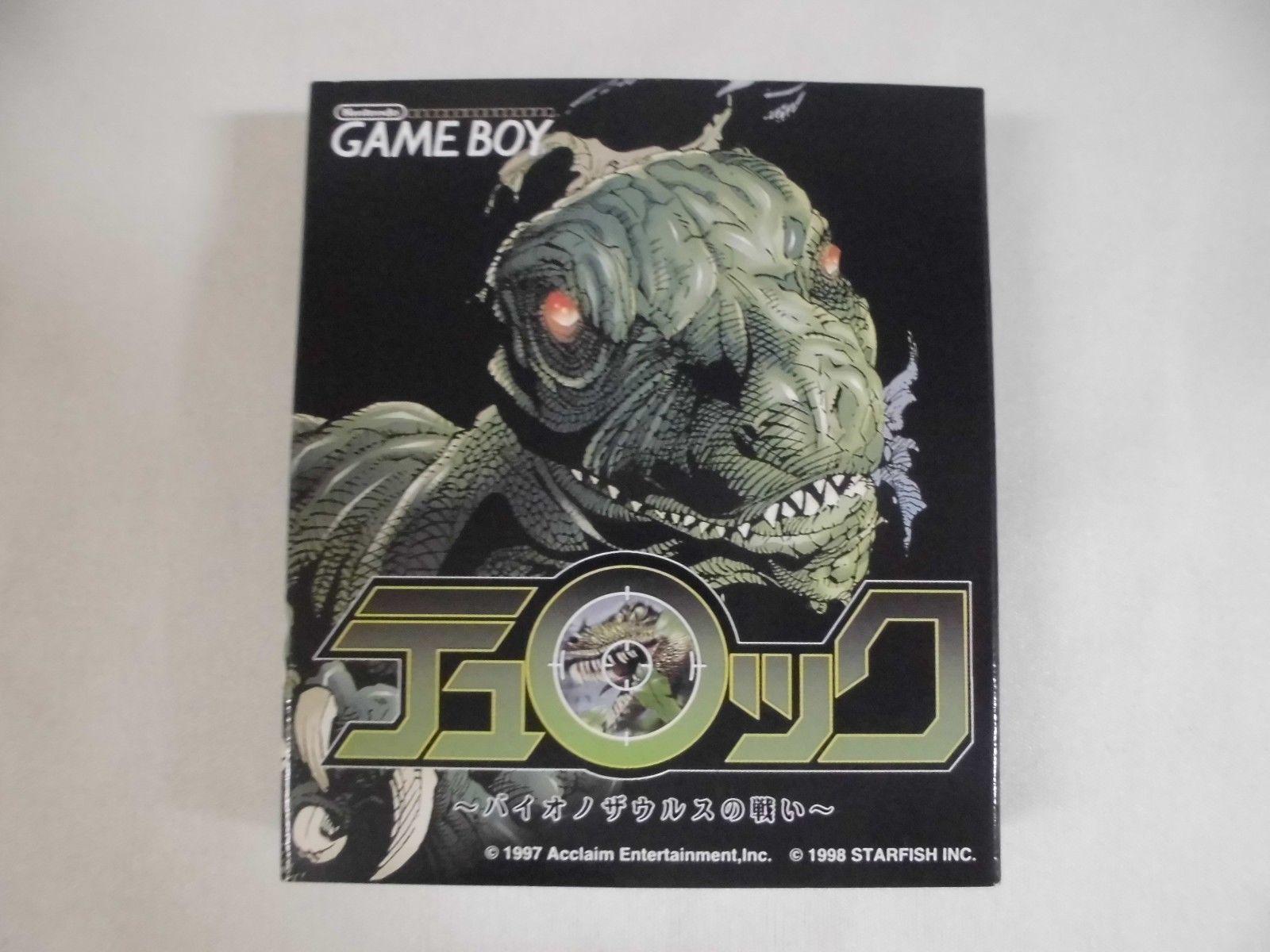 Game boy color japan - Turok Dinosaur Hunter Gameboy Color Japan Box 2 Jpg