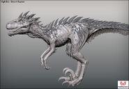 Turok 2 Raptor Render