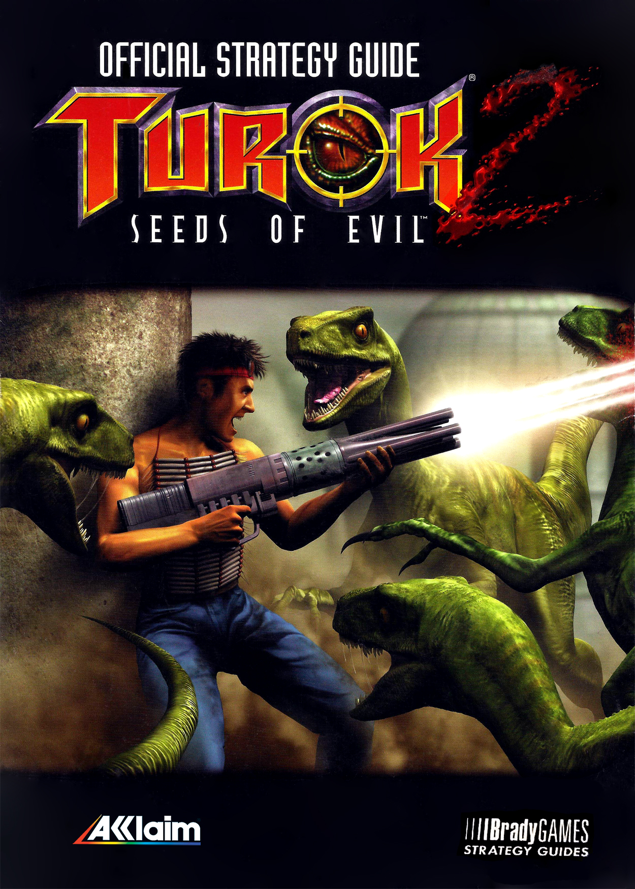 Turok 2 Seeds Of Evil Official Strategy Guide Bradygames