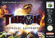 Turok Rage Wars Australia Front Cover