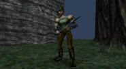Turok Dinosaur Hunter - Enemies - Poacher 007