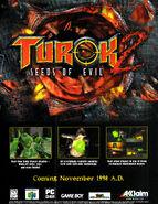 Turok 2 Seeds of Evil - Advertisement (1)