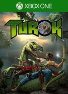 Turok Dinosaur Hunter - Xbox One box art